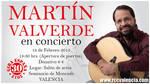 Martín Valverde, de gira por España