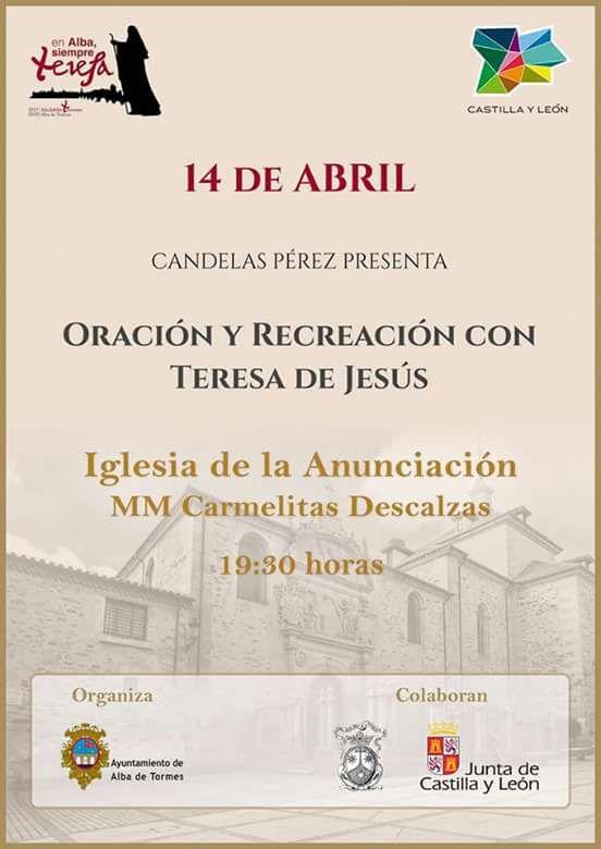ORACIÓN Y RECREACIÓN CON TERESA DE JESÚS