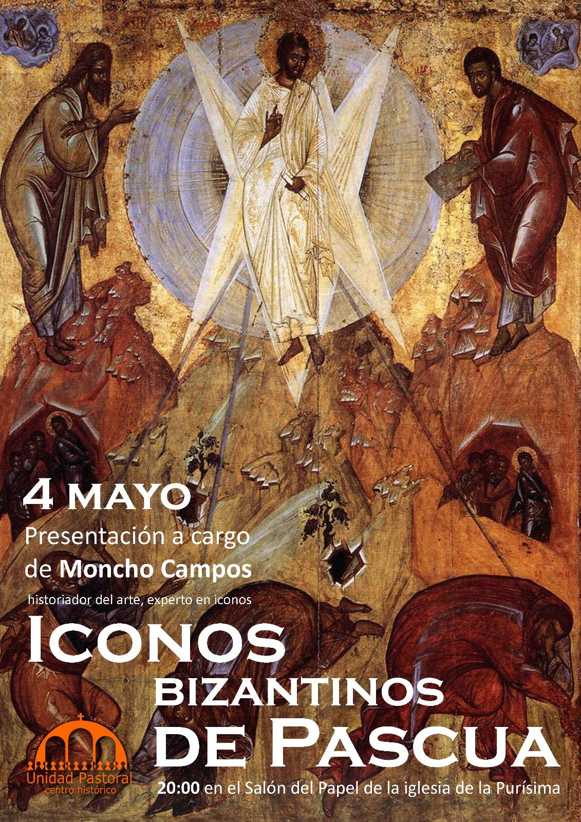 PRESENTACIÓN ICONOS BIZANTINOS DE PASCUA