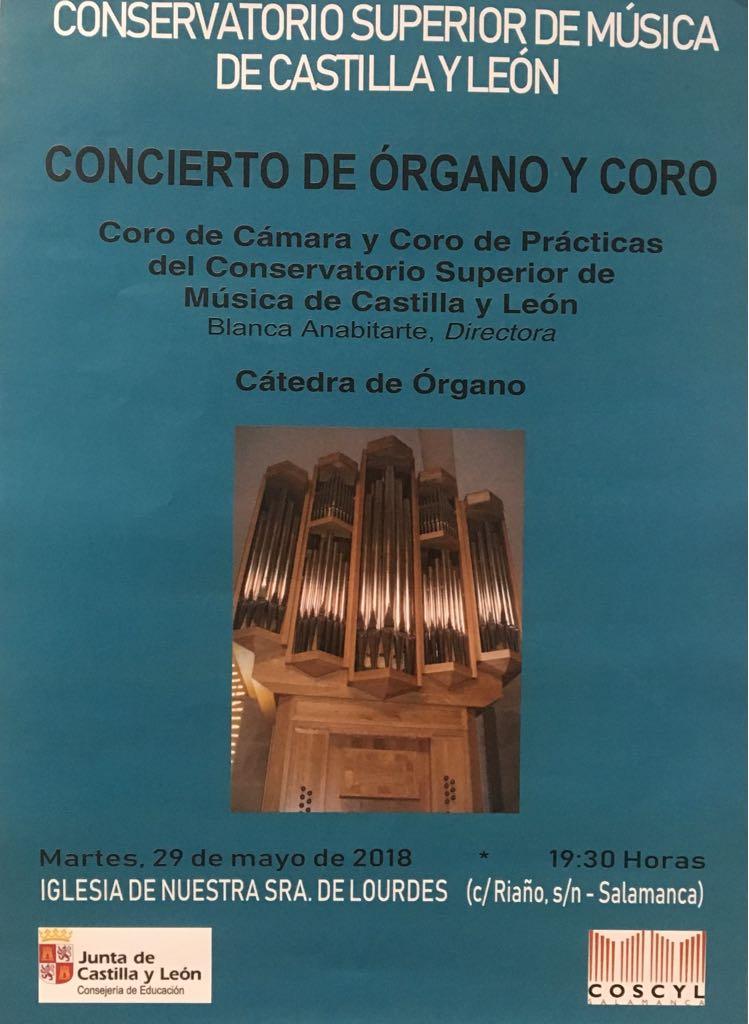 CONCIERTO DE ÓRGANO Y CORO