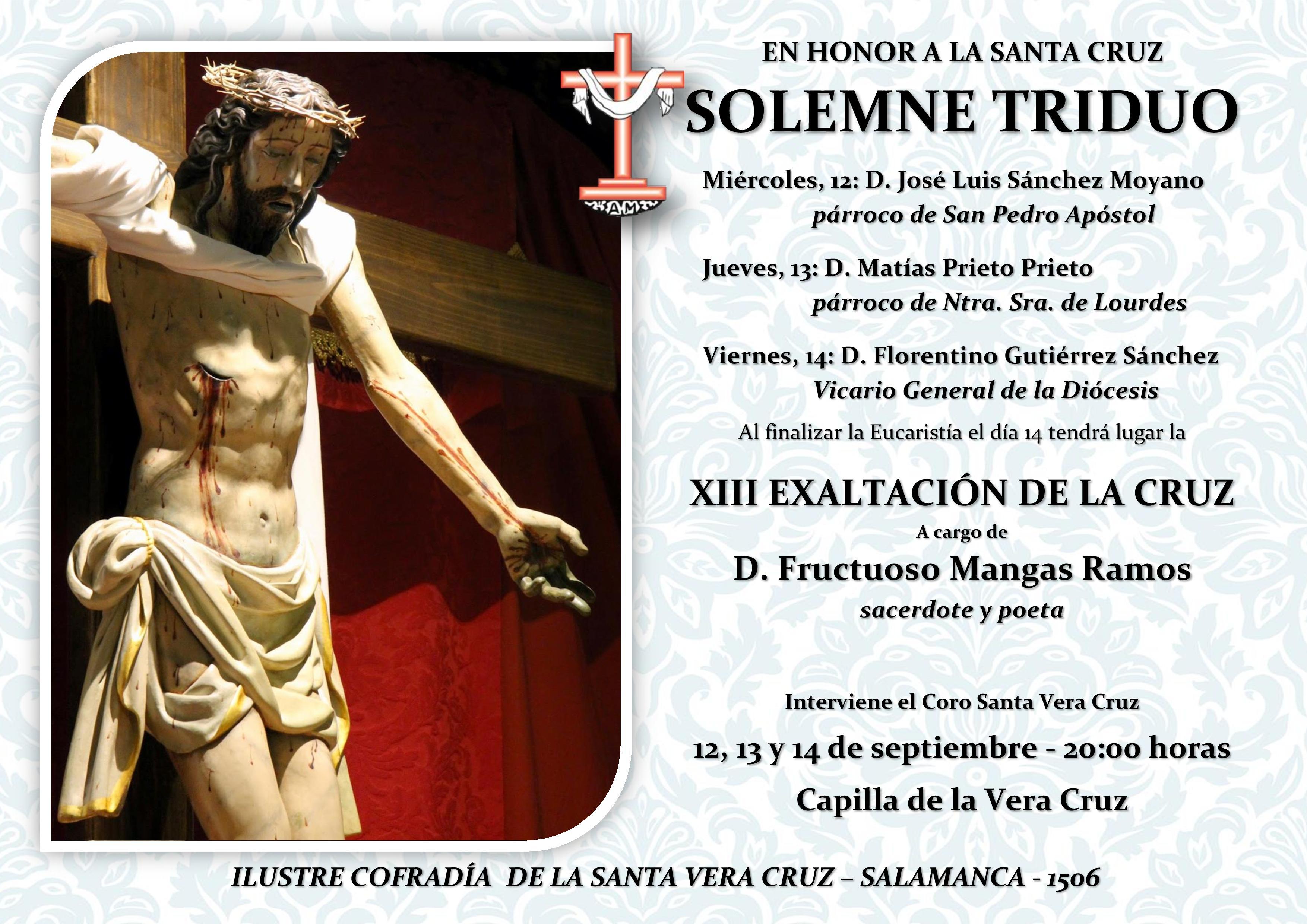 XIII EXALTACIÓN DE LA CRUZ