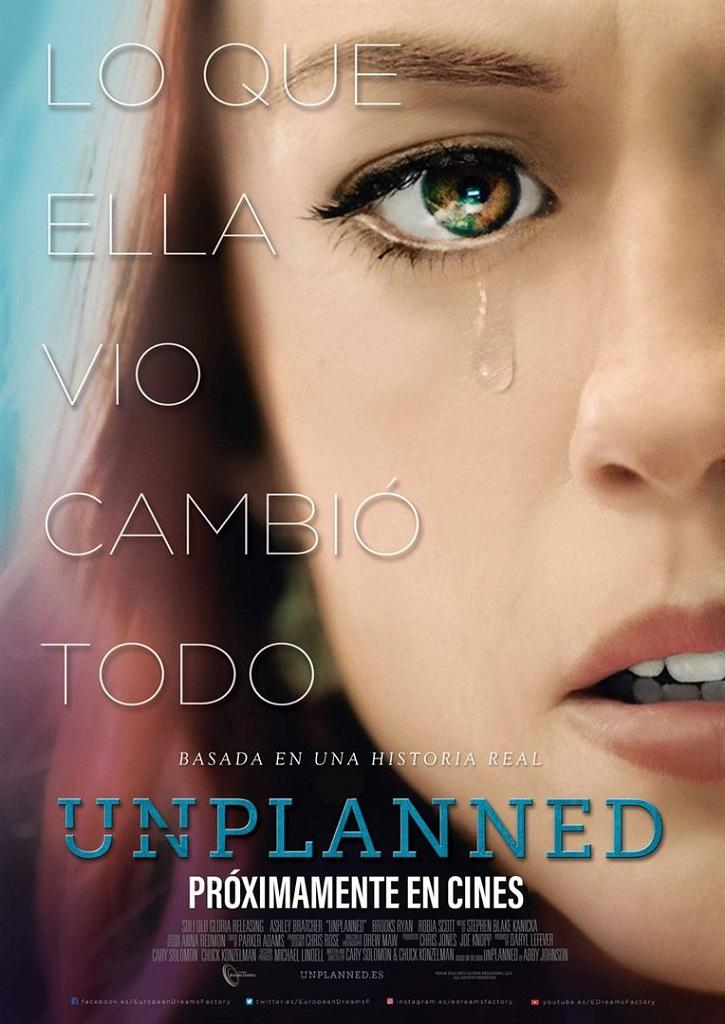 Proyección de la película Unplanned