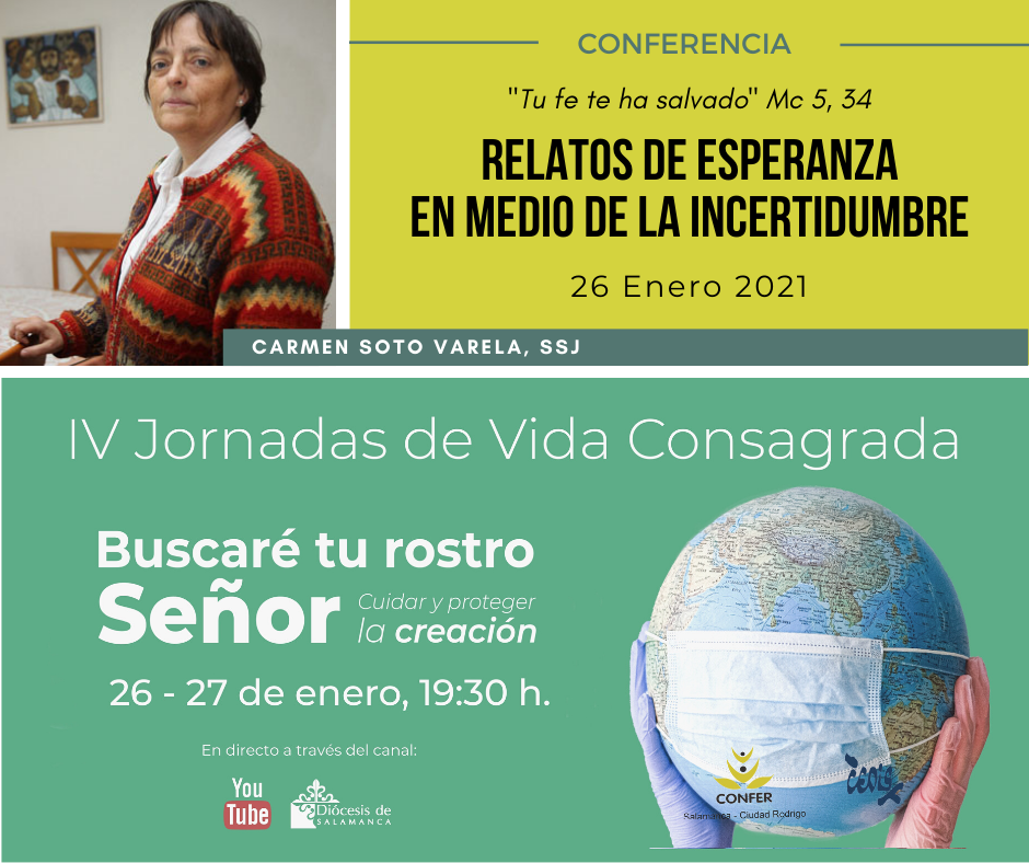"Conferencia: ""Relatos de esperanza en medio de la incertidumbre"""