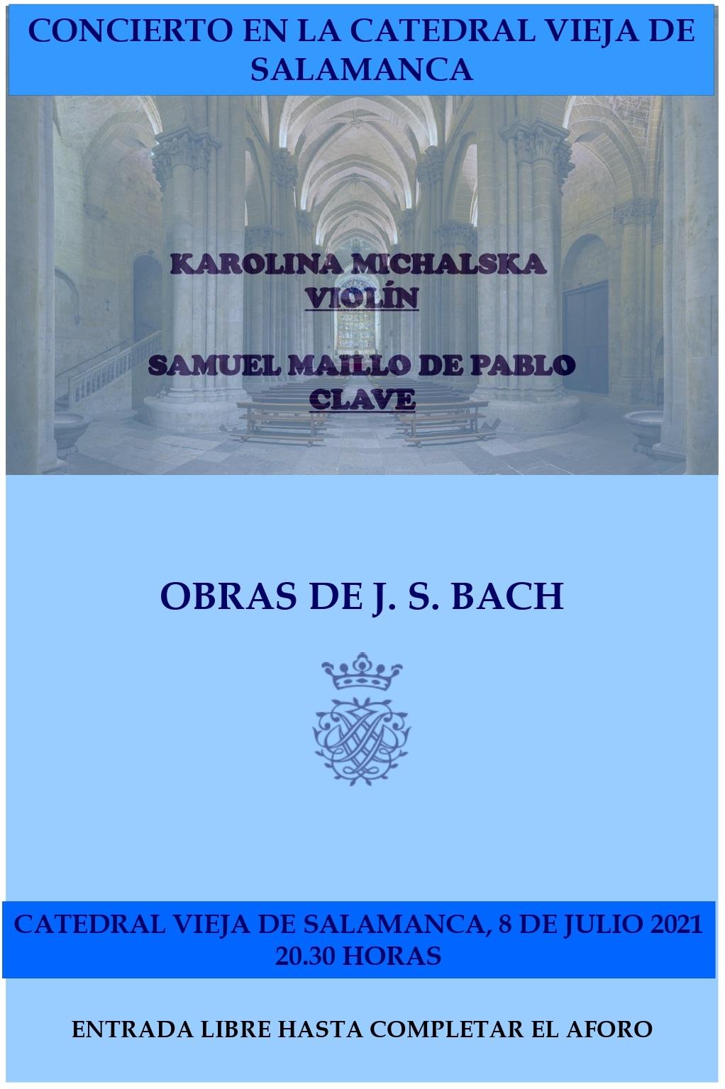 Concierto de violín y clave en la Catedral Vieja